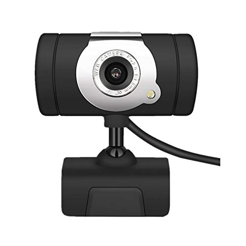 JOE Webcam, USB 2.0 50.0M HD Webcam della Macchina Web Cam con Miniphone Mic per Il PC del calcolatore Portatile Nero