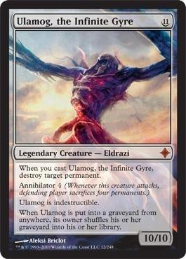 Magic: the Gathering - Ulamog, the Infinite Gyre - Rise of the Eldrazi by Magic: the Gathering