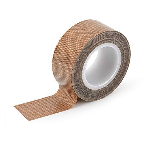 Ehdis Cinta de teflón, cinta de alta temperatura, cinta de PTFE, cinta de teflón para...
