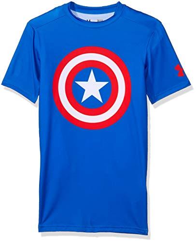Under Armour 1244399_402 Alter Ego T-Shirt de compression manches courtes - Homme - Bleu (Royale) - FR : L (Taille Fabricant : LG)