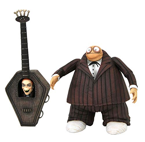 DIAMOND SELECT TOYS The Nightmare Before Christmas: Zombie Bass Player Action Figure, Multicolor