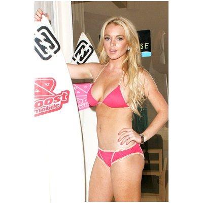 Lindsay Lohan 8x10 Photo Herbie Fully Loaded Mean Girls in a bikini