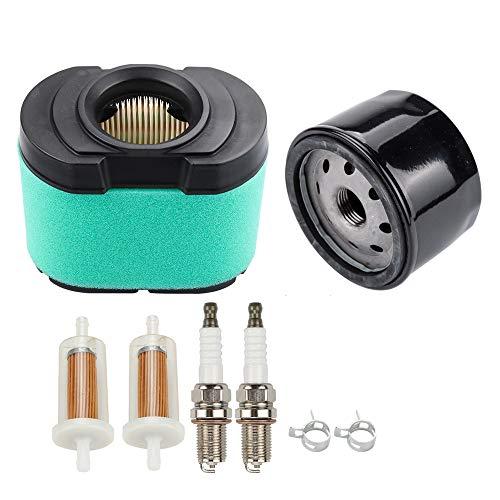 Dalom LG264 Kit MIU11515 Air Filter w Oil Filter for Lawn Mower Tractor D150 D155 D160 D170 E160 E170 E180 L118 L120 LA140 LA150 LA155 LA165 LA175 X130R Z225 Z245 Z425 Z435 Z525E Z625