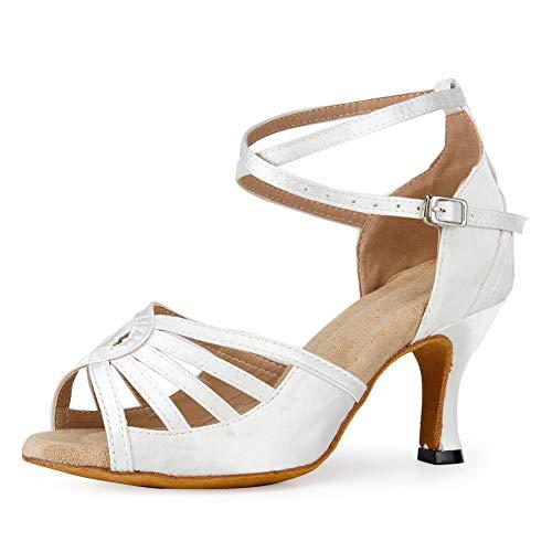 HIPPOSEUS Zapatos de Baile Latino para Mujer - Zapatos de Baile de...
