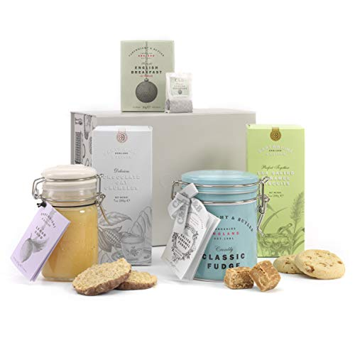 The Family Favourites Sharing Box by Cartwright and Butler | Gift Hamper | Happy Birthday Hamper | Morning Treats | Get Well Soon Gift | Thinking of You Gift | Tea Lover Gift | Luxury Biscuits