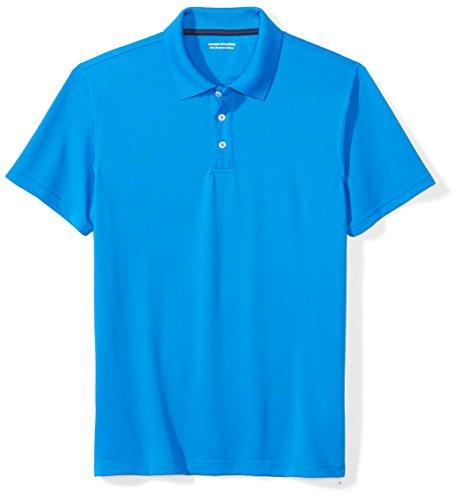 Amazon Essentials Slim-fit Quick-Dry Golf Polo Shirt, Azul (Electric Blue), Medium (Talla del fabricante:):)