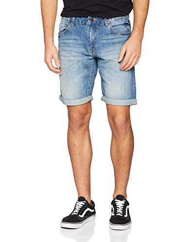 INSIDE CBE20 S7344875220 Boxer, Bleu, (Taille Fabricant: W46) Homme