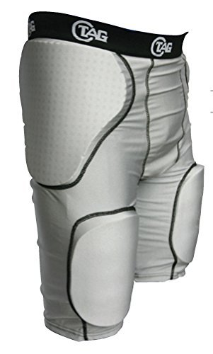 TAG Youth 5-Pad Integrated Girdle Large Waist (24in)