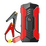 HUAEI 12V Saltar el arrancado,Arrancador de Coches, 800A 20000mAh Arrancador,de Baterias de Coche,para 6.0L Gasolina o 3.0L Diesel