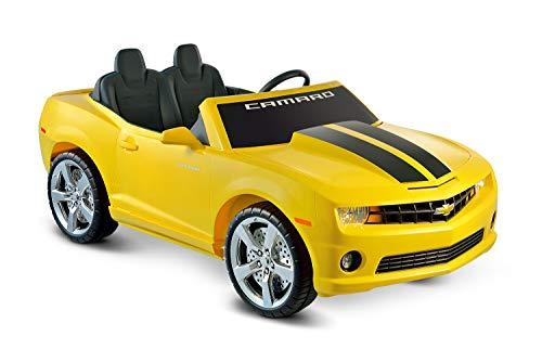Kid Motorz 12V Two Seater Chevrolet Racing Camaro Ride-On Car, Yellow
