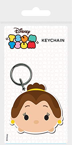 Keychain Disney Tsum Tsum - Llavero de Goma Belle