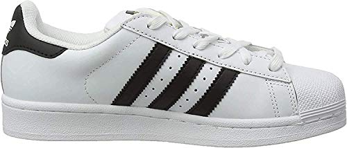 adidas Unisex-Erwachsene Superstar Low-Top, Weiß (Ftwr White/Core Black/Ftwr White), 45 1/3 EU