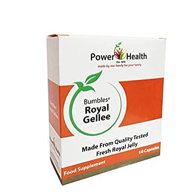 Power Health 500mg Bumbles Royal Gellee Economy - Pack of 60 Capsules from Power Health Products Ltd