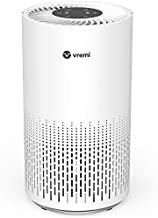Vremi Large Room Home Air Purifier with True HEPA Filter - Automatically Senses and Removes up to 99.97% of Pollen, Pet Dander, Smoke Odors, Dust and Other Particles
