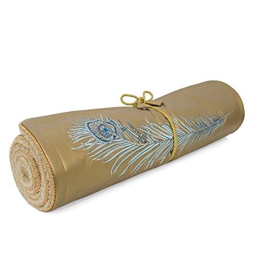Holistic Silk Yogamatte Peacock