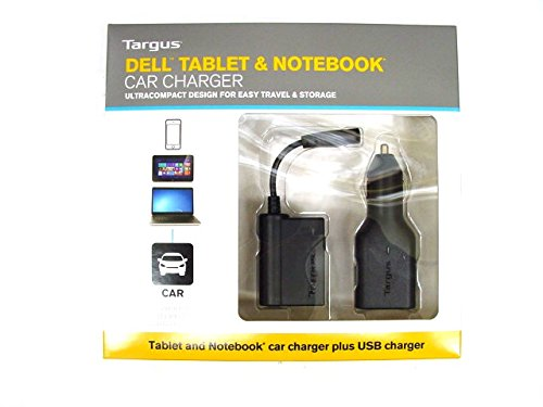 Targus 90W Car Adapter w/ USB 2.1A Fast Charger