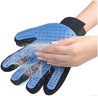 PEROS 右手2枚セット グルーミンググローブ ペットブラシ 手袋 猫 ブラッシング ブラシ 毛取りブラシ お手入れ