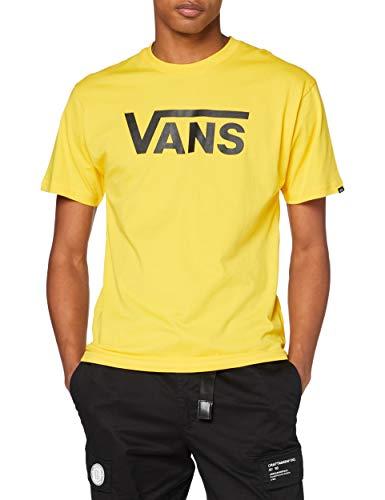 Vans Classic Camiseta, Cromo limón, L para Hombre