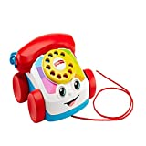 Fisher Price- Telefono Parlante Trascinabile, Giocattolo per Bambini 1+ Anni, FGW66