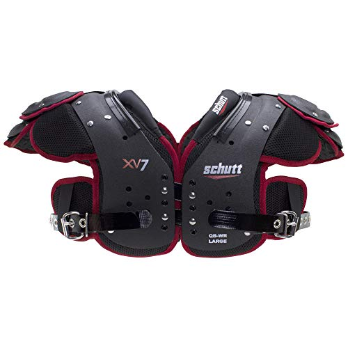 Schutt Sports XV7 Varsity Football Shoulder Pads, Medium, Quarterback/Wide Receiver