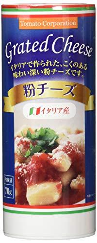 トマトコーポレーション 粉チーズ イタリア産 70g ×12個