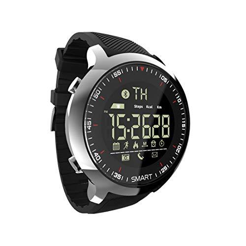 COFFEE CAT Orologio da Uomo Smart Watch Sport Fitness Cardiofrequenzimetro Sleep Monitor Contacalorie