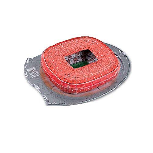 TKFY WM-Zusammenstellung Jigsaw Puzzle Allianz Arena Stadion 3D-Modell Fußball Fans Erinnerungsstücke Geschenk Spielzeug für Kinder Intelligenz