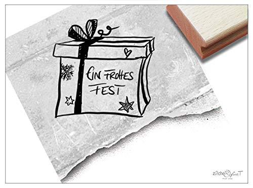 ZAcheR-fineT Kerststempel, een voorvormig feest, tekststempel, Kerstmis, kaarten, cadeauhangers, decoratief cadeau