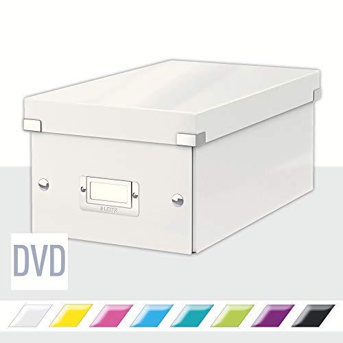 Leitz Click & Store DVD Aufbewahrungsbox, weiß, 60420001
