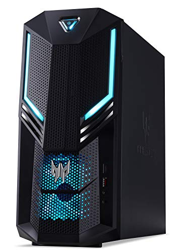Acer Predator Orion 3000 Gaming Desktop, 9th Gen Intel Core i5-9400F, NVIDIA GeForce GTX 1660 Ti, 12GB DDR4, 512GB PCIe NVMe SSD, Windows 10 Home, PO3-600-UR1D
