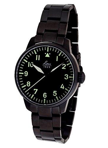 Laco Melbourne Reloj para Hombre Analógico de Automático con Brazalete de Acero Inoxidable 861899