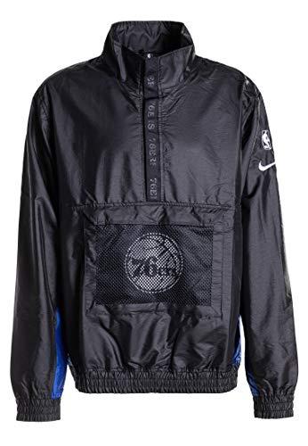Nike Philadelphia 76ers - Giacca Leggera NBA, da Uomo, Taglia S, Colore: Nero