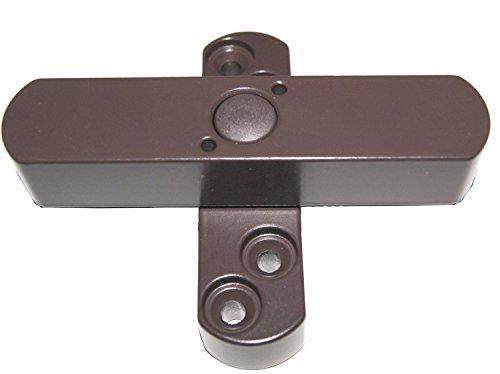5 x Bever Stuco Safe Fenstersicherung, 2-flügelig, braun, 21SB Fensterschloss - DIN 18104 geprüft