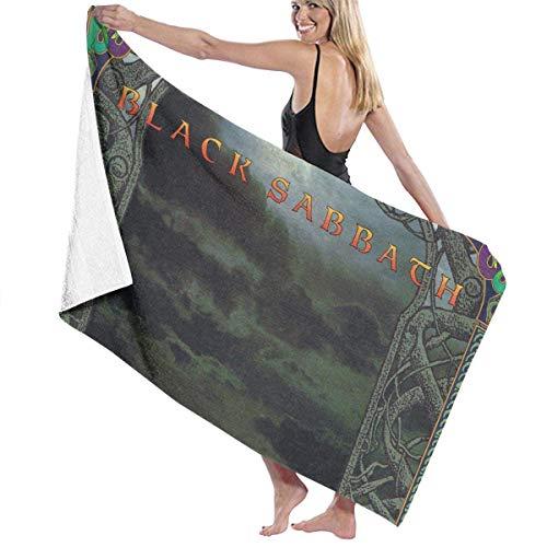 Ghkjhk8790 Unisex Black Sabbath Tyr Absorbent Large Bath Towels