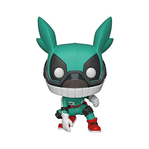 Funko- Pop Figura De Vinil: Animation: My Hero Academia-Deku w/Helmet Coleccionable, Multicolor (42930)
