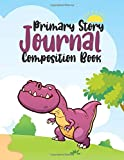 Jurassic Period Primary Story Journal: Blank Dotted Midline and Picture Space | Grades K-2 School Exercise Book | 120 Story Pages (Kids Dinosaurs Era Composition Notebooks)