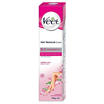 Veet Silk & Fresh Hair Removal Cream, Normal Skin -100 g from Reckitt Benckiser