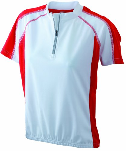 James & Nicholson Ladies' Bike-T - Camiseta de Ciclismo para Mujer, Color...