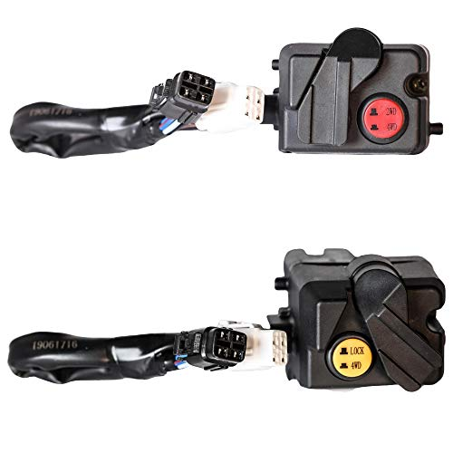 Replacement Four Wheel Drive Push Button Switch for 2004-06 Yamaha Rhino 660's & 2006 Rhino 450 - Part Number 5UG-83976-10-00