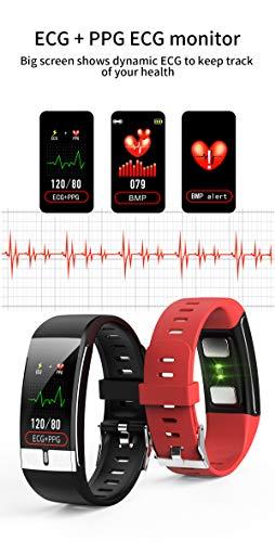 Pulsera de Actividad inteligente IP68 con medición de temperatura corporal para hombres y mujeres, con WhatsApp de… 4