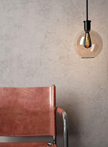 NEWROOM Beton-Optik Tapete Grau Beton Modern Papiertapete Papier moderne Design 3D Optik Betonoptik Betonwand Architekt inkl. Tapezier-Ratgeber