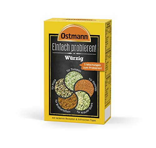 Ostmann Einfach probieren Set - Würzig, 4er Pack (4 x 1000 g)