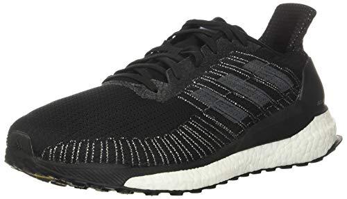 adidas Herren Solar Boost 19 M Laufschuh, Sneaker, (Core Black/Grey Five/Core Royal), 42 EU