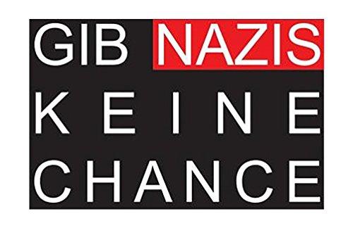 Keine Chance - Aufnäher, Farbe: Schwarz/Rot/Weiß