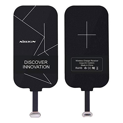 Ricevitore di ricarica senza fili, Nillkin Magic Tag Qi Wireless Charging Receiver charger pad Ricevitore Patch Module Chip per VIVO X6 e altri dispositivi Qi-Enabled - Nero