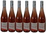 Cabernet d'Anjou d'exception rosé demi sec 2019 AOC, 6 bouteilles de 75cl.