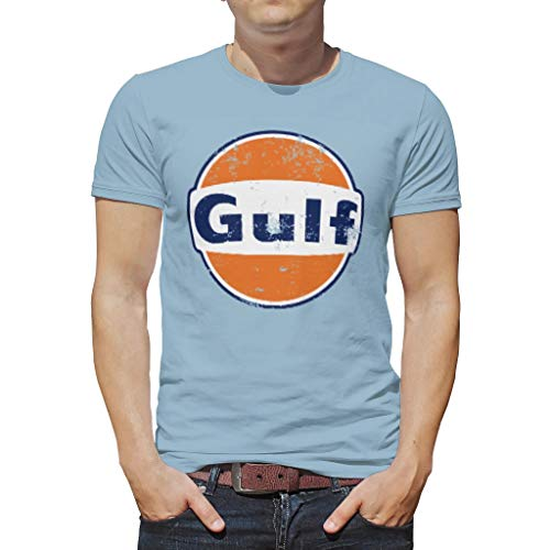 Gulf Collection Racing Polo Shirt Blue 2017 ADULT