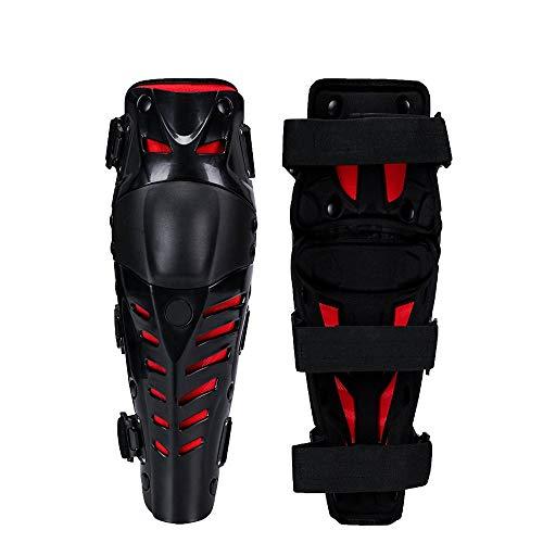 HOUJHUR Rodilleras for el Trabajo Esponja Gruesa Antideslizante Escalada al Aire Libre Sport Riding Protector Ajustable Lavable Unisex (Color : Rojo, Size : One Size)