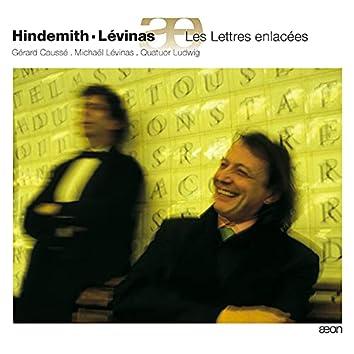 Hindemith: Sonates - Lévinas: Les Lettres enlacées