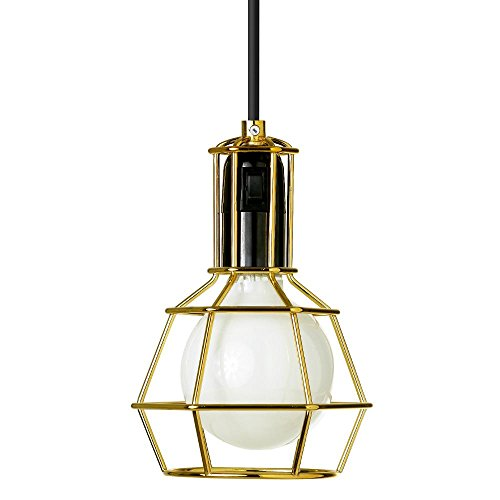 WORK LAMP - Suspension/Lampe Baladeuse Gold | Lampe à poser Design Stockholm House designé par Form Us With Love